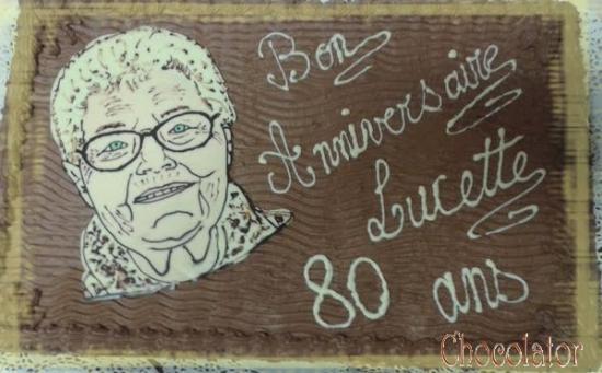 80 ans Lucette