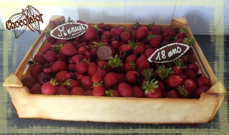 Cagette de fraise