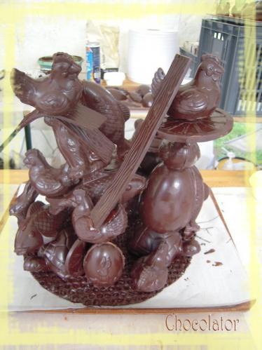 Virades Structure Chocolat